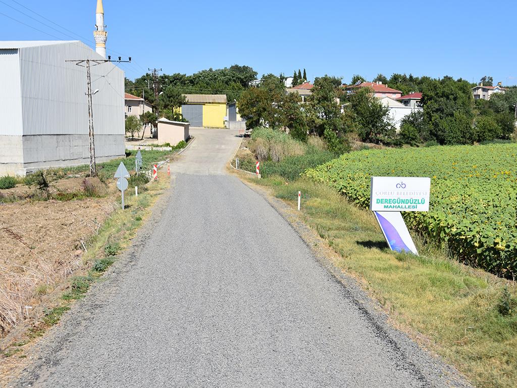 Tekirdağ Büyükşehir Belediyesi Yol Yapım Çalışmalarına Aralıksız Devam Ediyor