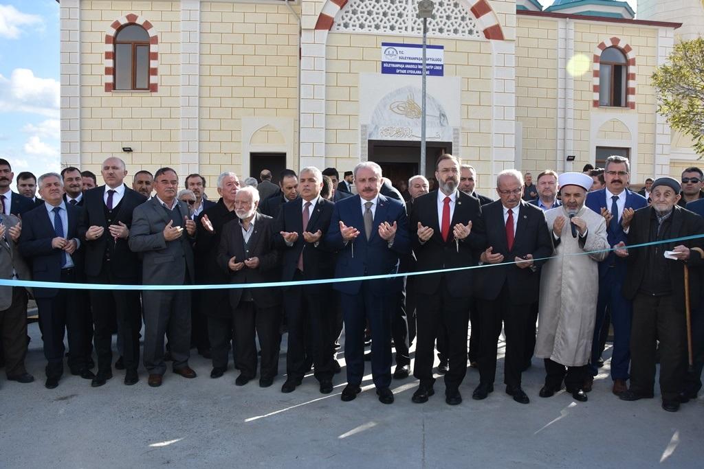 Süleyman Paşa Anadolu İmam Hatip Lisesi Üftade Uygulama Camii'nin Açılışı Gerçekleştirildi