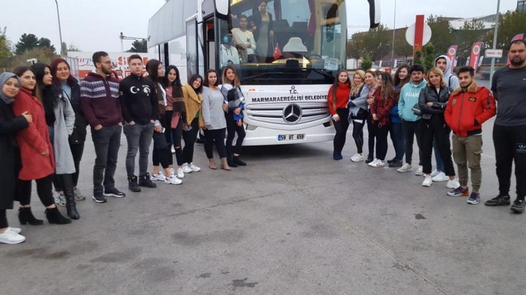 Marmara Ereğlisi Belediyesi, Meslek Yüksekokulu Öğrencilerini Atamızla Buluşturdu