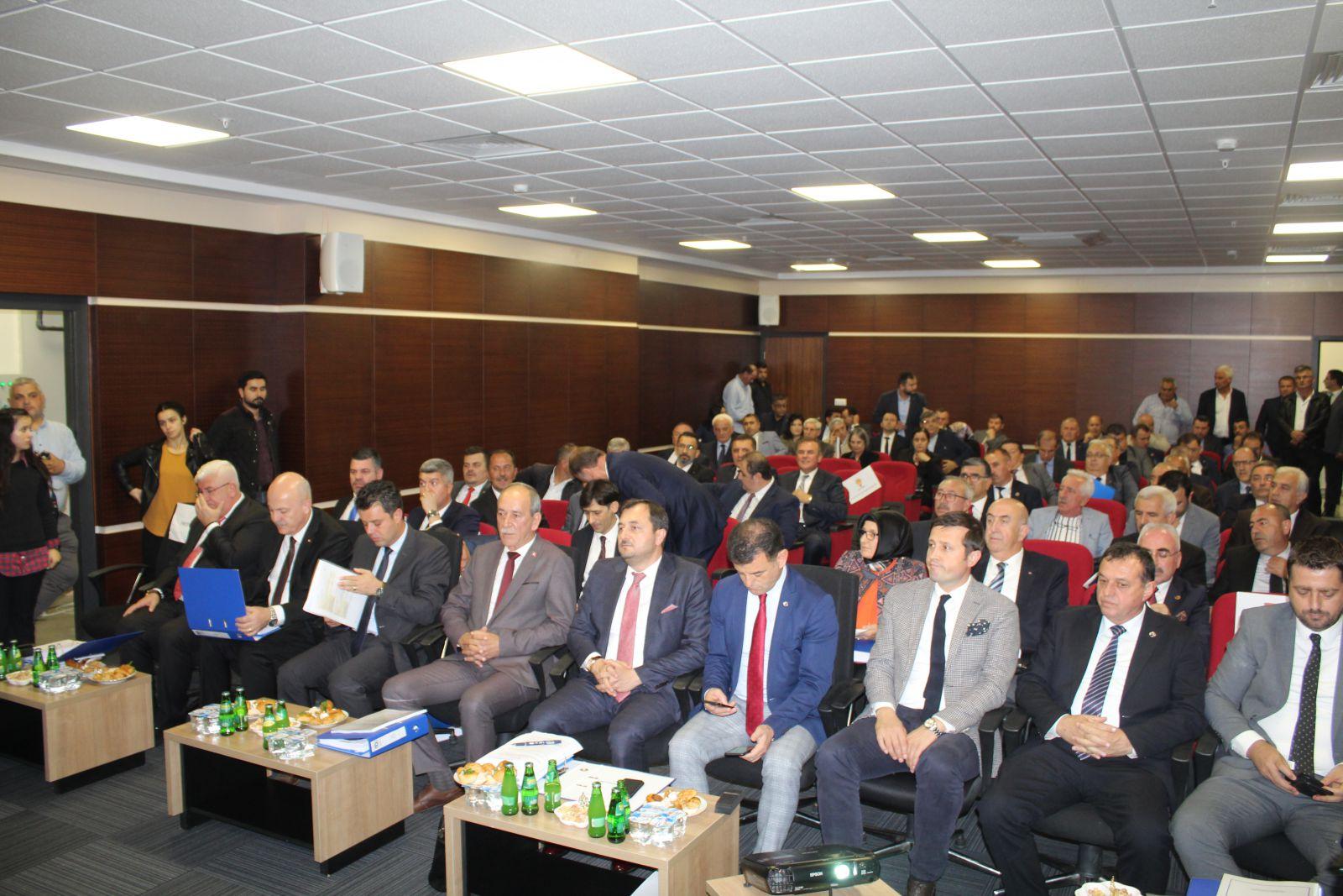 Tekirdağ Büyükşehir Belediyesi Kasım Ayı Meclis Toplantısı Marmara Ereğlisi'nde Yapıldı.