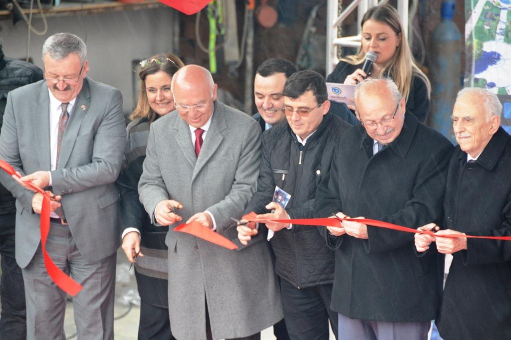Başkan Eşkinat Tekirdağ Kent Konseyi hizmet binası açılış törenine katıldı