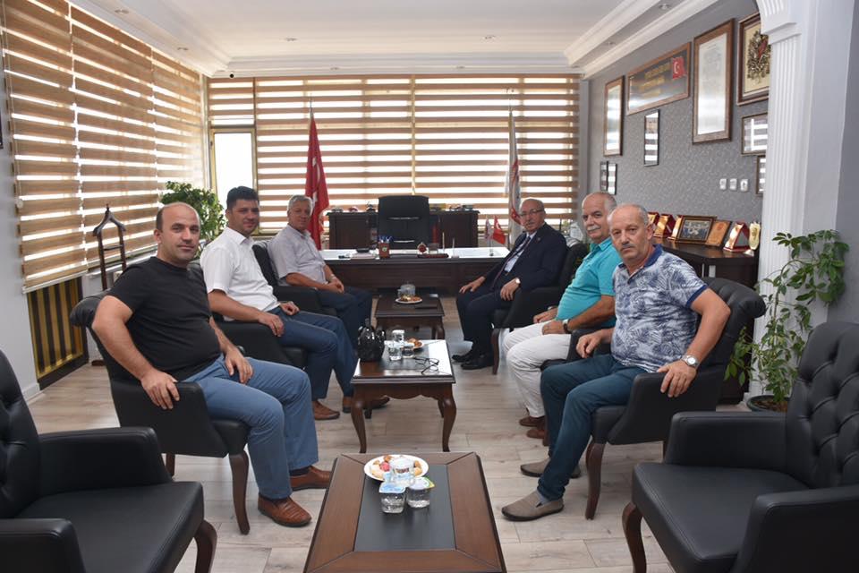Başkan Kadir Albayrak'tan Büyükşehir Belediye Meclis Üyelerine Ziyaret