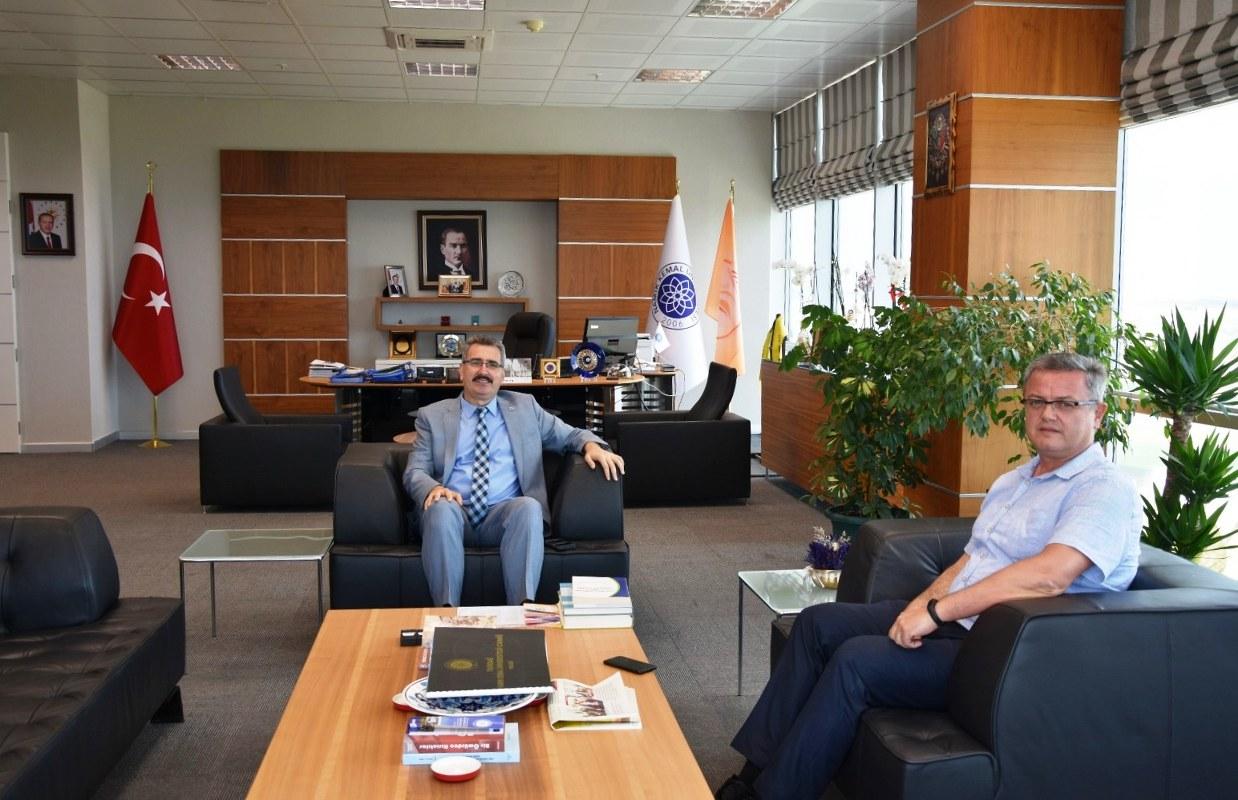 TEDAŞ Trakya Bölge Müdüründen Namık Kemal Üniversite Rektörüne Ziyaret