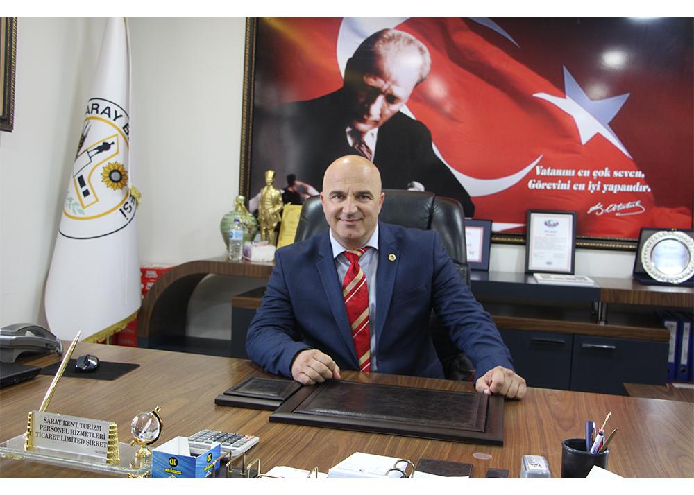 Saray Belediye Başkanı Özgen Erkiş'in 23 Nisan mesajı