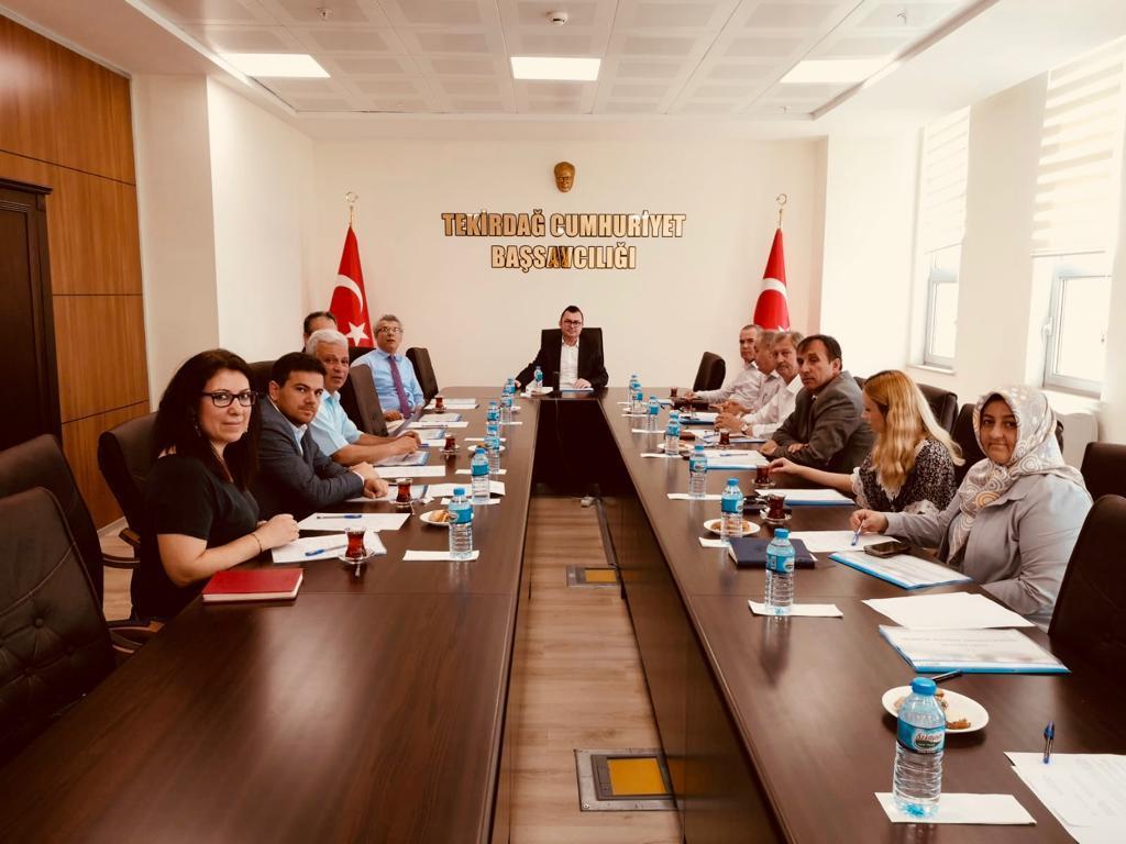 Tekirdağ Cumhuriyet Başsavcılığı Koruma Kurulu Başkanlığının Haziran Ayı Olağan Toplantısı Yapıldı