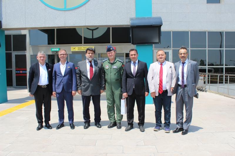 Çorlu Atatürk Havalimanı Romanya'dan Misafirlerini Ağırladı