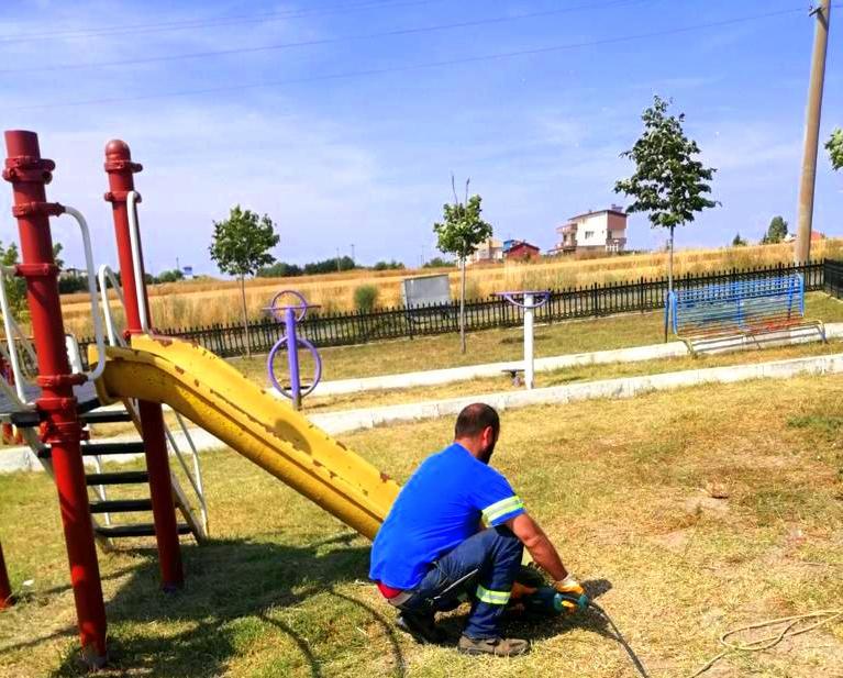 Marmara Ereğlisi Belediyesinden Park ve Bahçeleri İyileştirme Çalışması Başladı