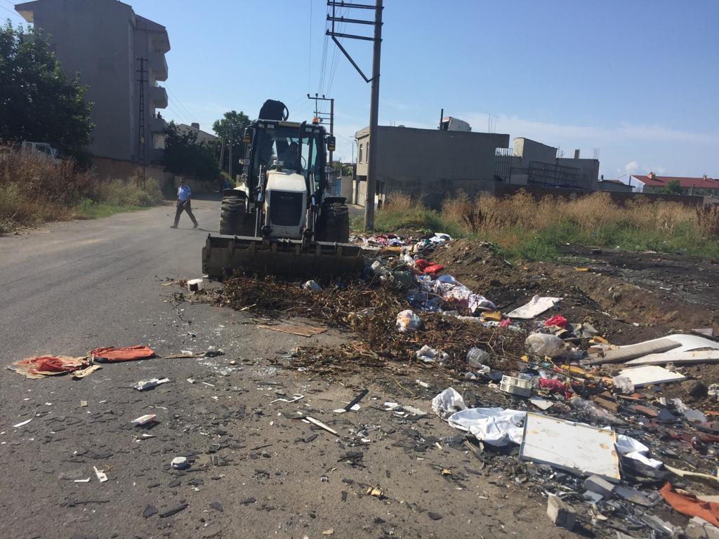 Süleyman Paşa Belediyesi 13 Kasım Okulu çevresinde çalışma gerçekleştirdi