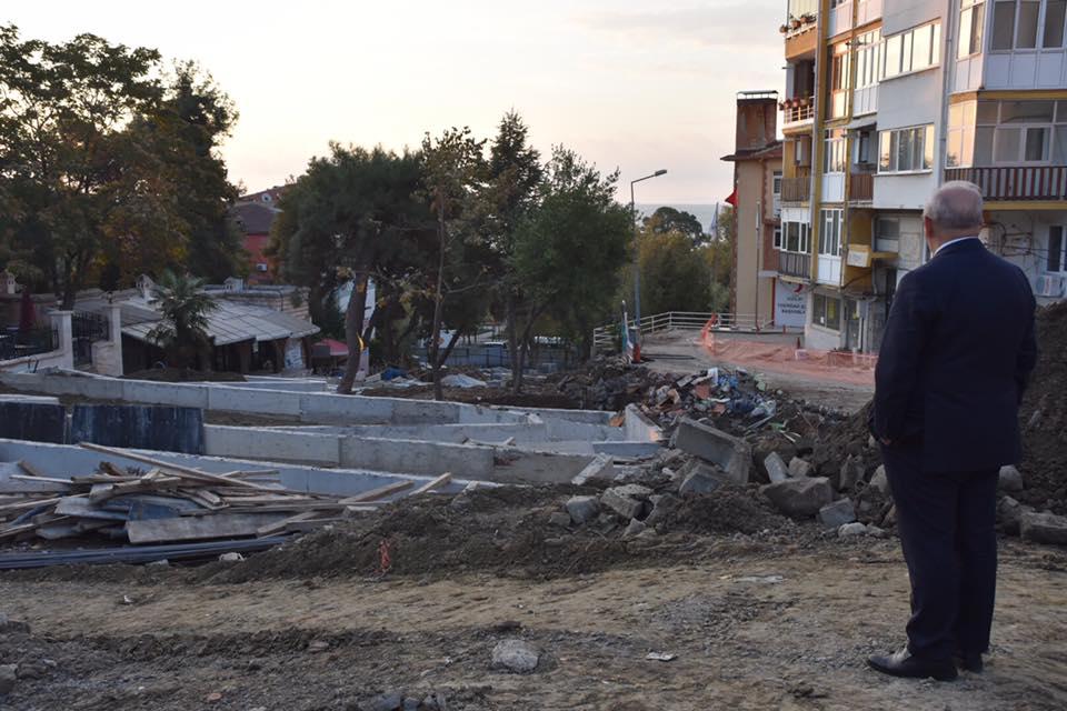 Büyükşehir Belediyesi Yeni Hizmet Binası ve Merdiven Park Projesi İnşaat Çalışmaları Tüm Hızıyla Devam Ediyor