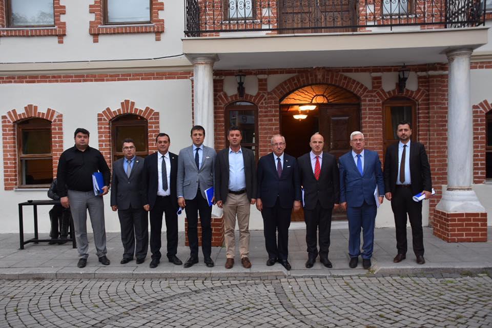 Başkan Kadir Albayrak İlçe Belediye Başkanları ile Bir Araya Geldi