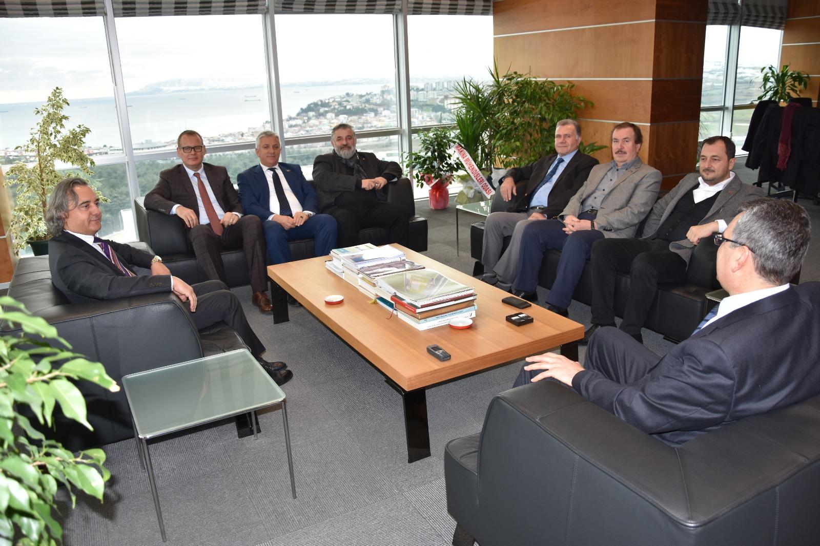 Tekirdağ Ak Parti İl Başkanı ve Süleyman paşa Ak Parti Belediye Başkan Aday Adaylarından Nezaket Ziyareti