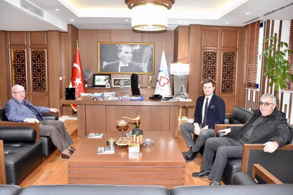 Başkan Kadir Albayrak'tan Vahap Akay'ı Ziyaret Etti