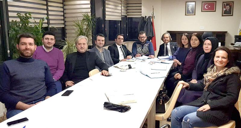 AK Parti Tekirdağ İl SKM Göreve Başladı