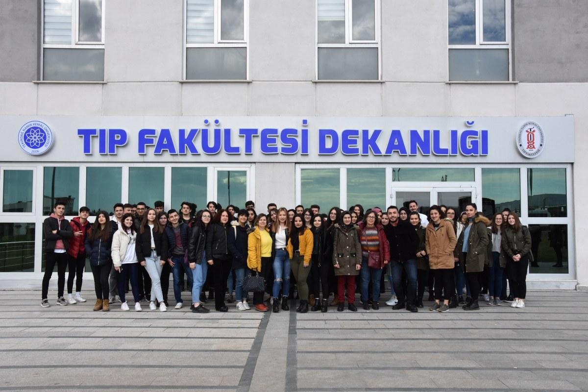 Dr. Sadık Ahmet Mesleki ve Teknik Anadolu Lisesi Öğrencilerinden Ziyaret