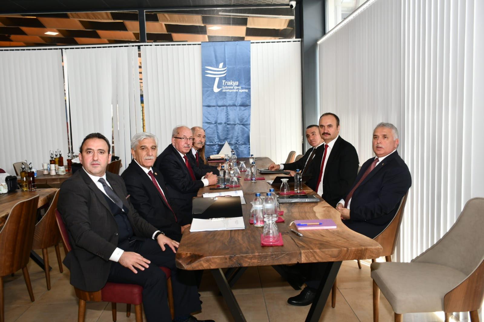 Trakya Kalkınma Ajansı Yönetim Kurulu Edirne'de Toplandı