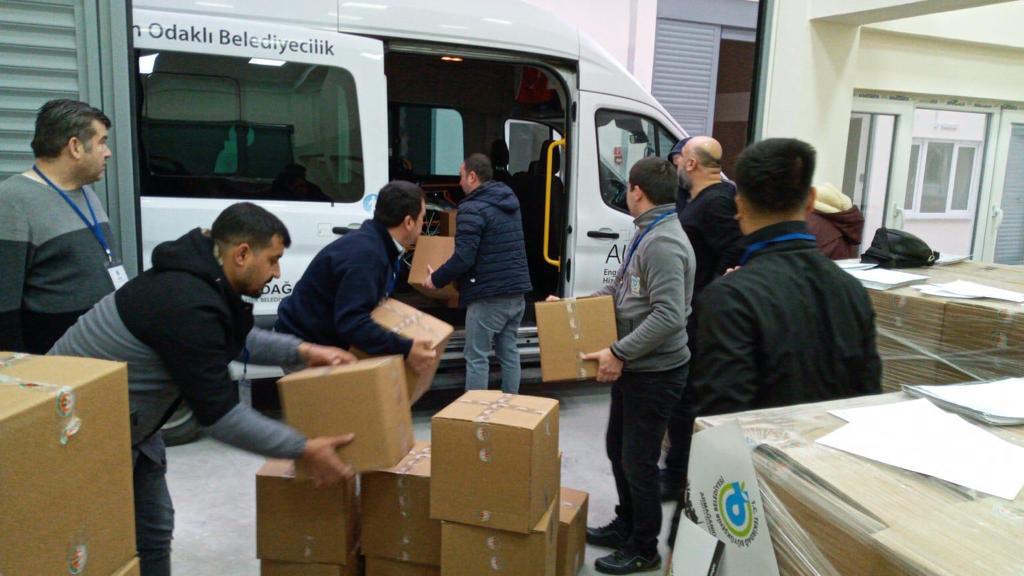 Tekirdağ Büyükşehir Belediyesi'nden Gıda Yardımı