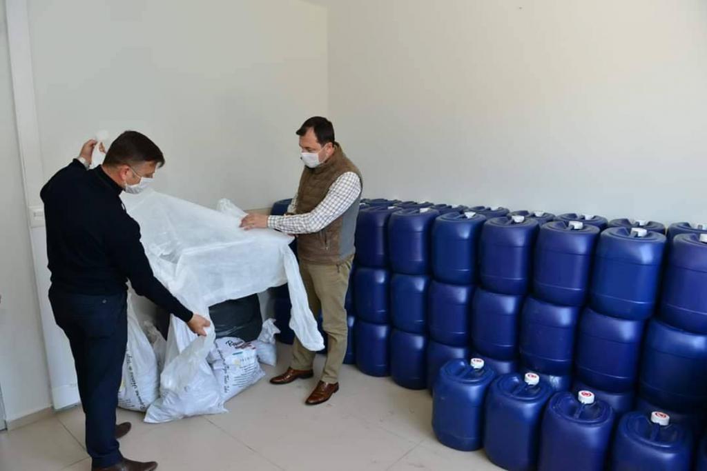Kırsal mahallelerde dezenfekte çalışmaları arttırılıp ek önlemler alındı