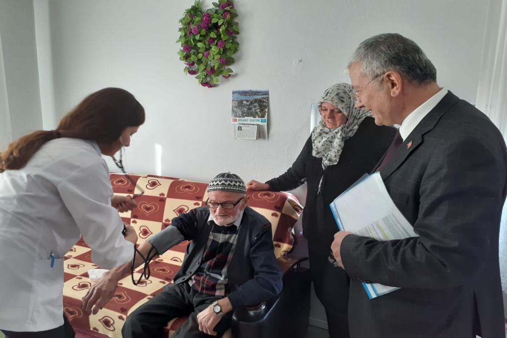 Süleyman Paşa Belediyesi'nden, evde ağız ve diş sağlığı tarama hizmeti