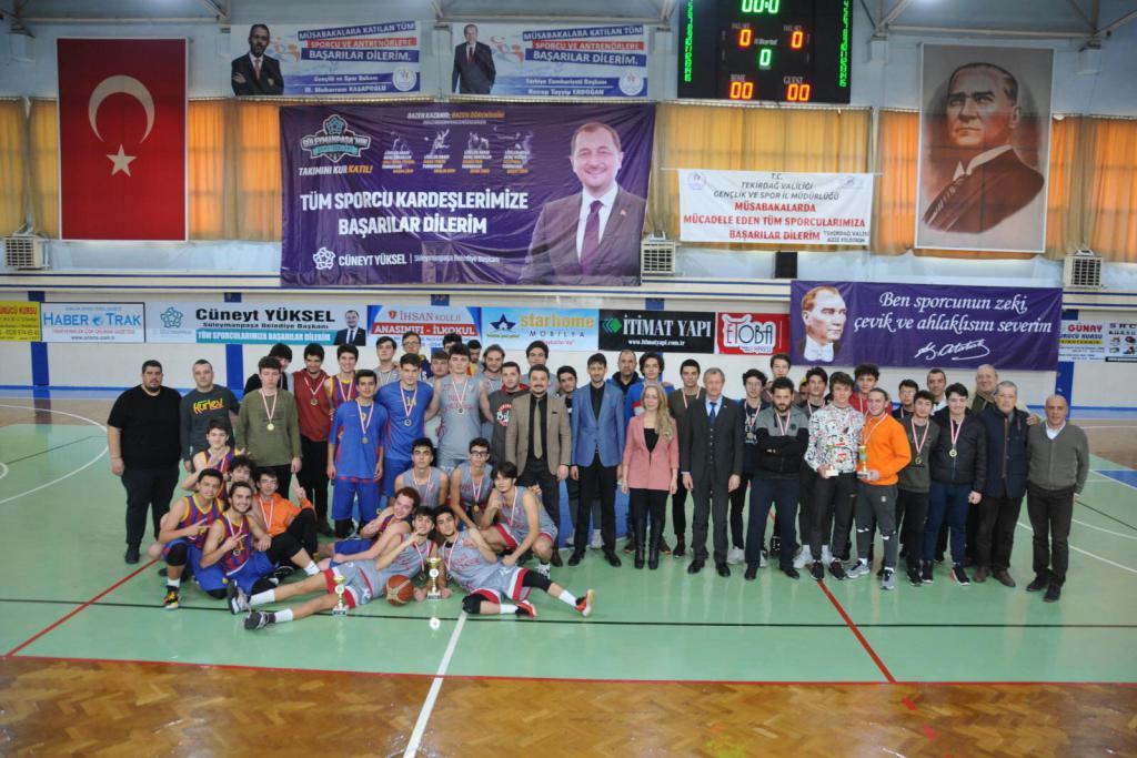 Süleyman Paşa'nın Şampiyonu Bilgi Koleji