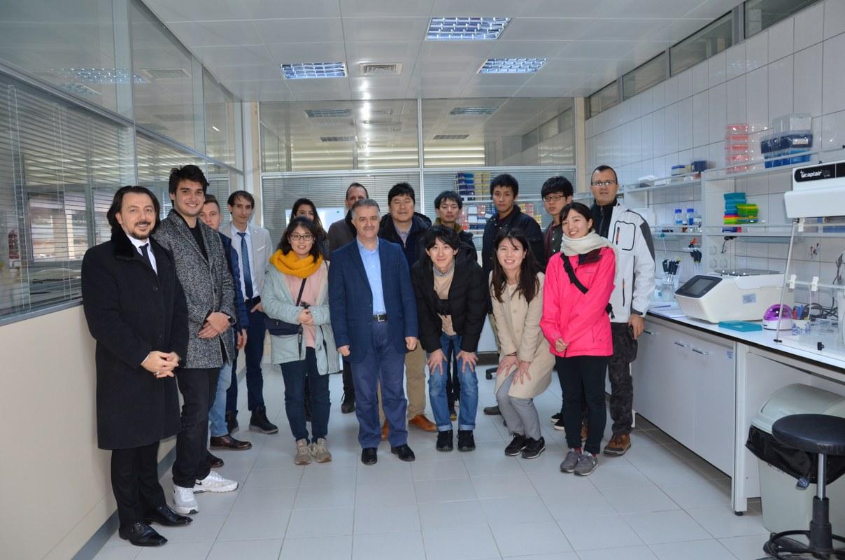 Japonya Niigata Namık Kemal Üniversitesine Ziyaret