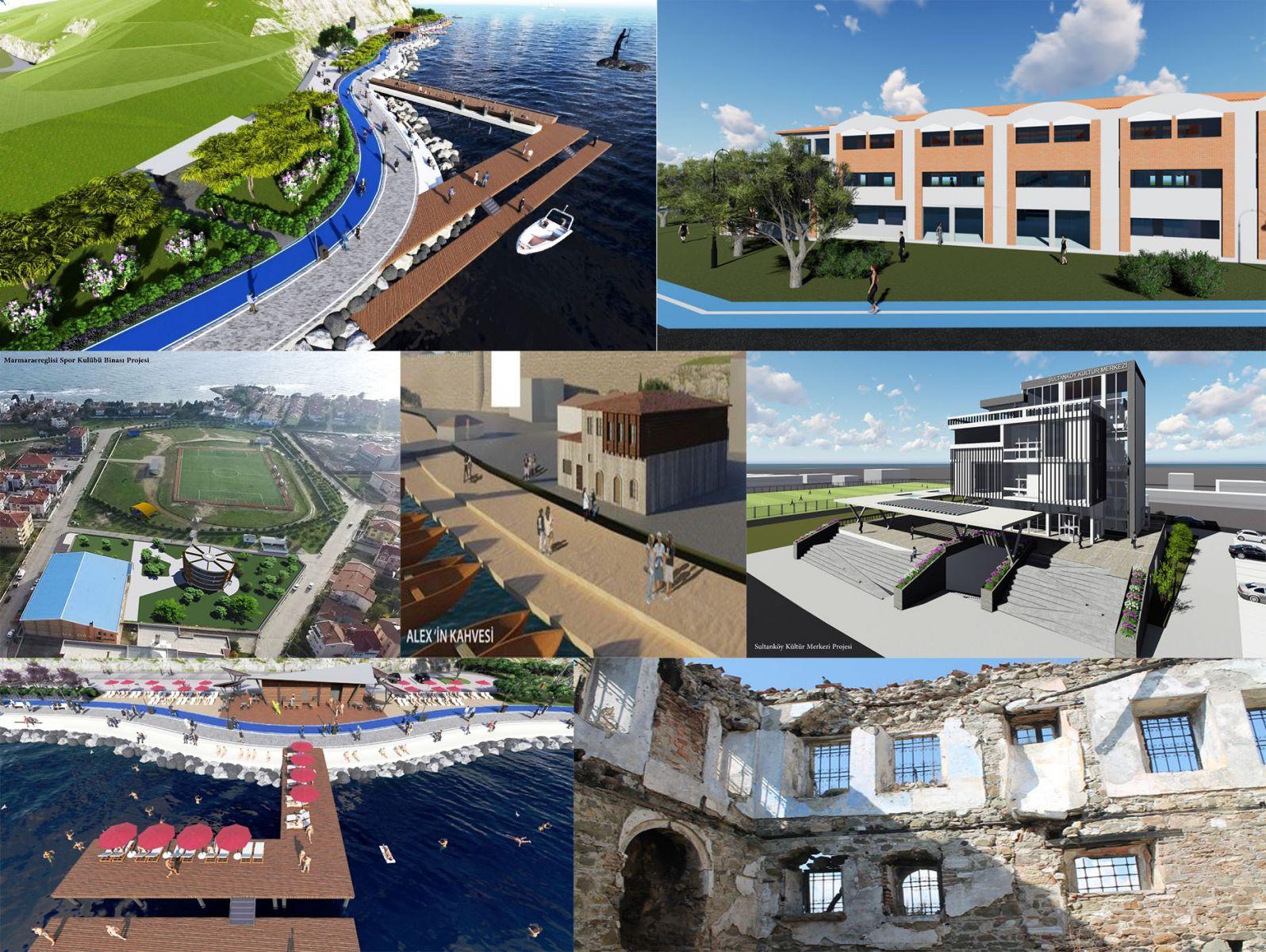 Marmara Ereğlisi'nin Çehresi Dev Projeler İle Değişiyor