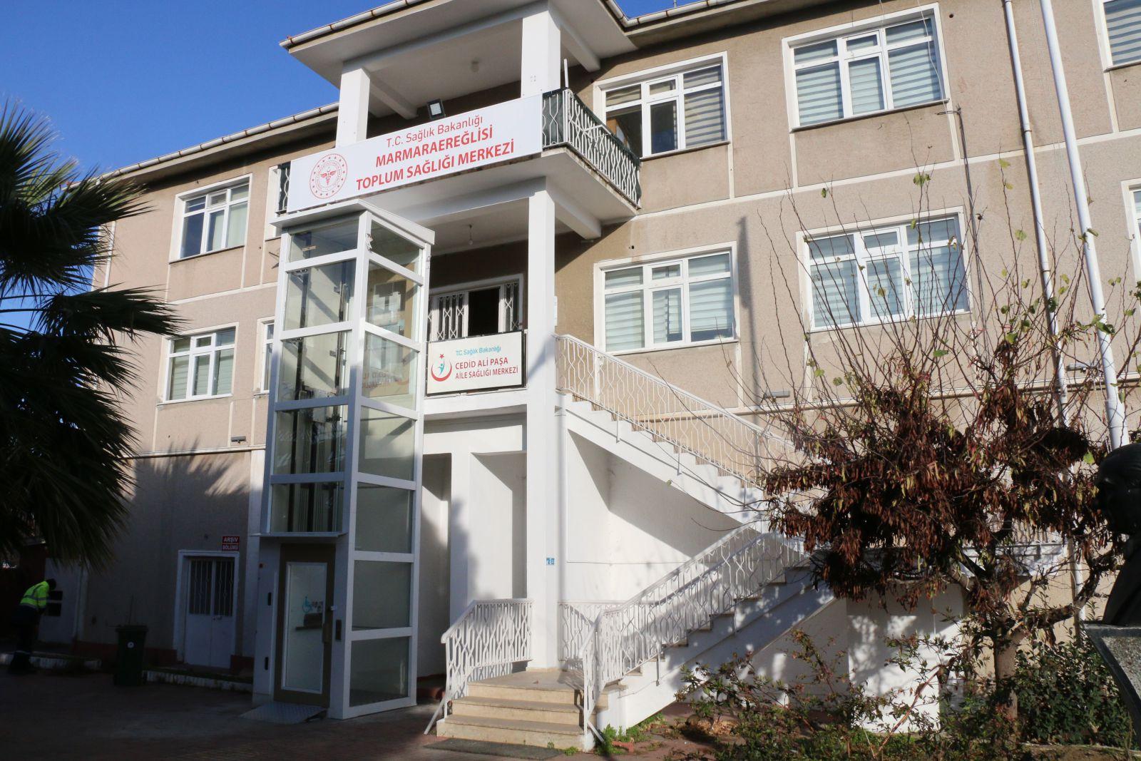 Marmara Ereğlisi Halk Sağlığı Merkezi Yeni Yerinde Hizmete Açıldı